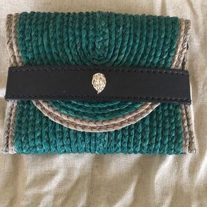 Helen Kaminski Wallet Green